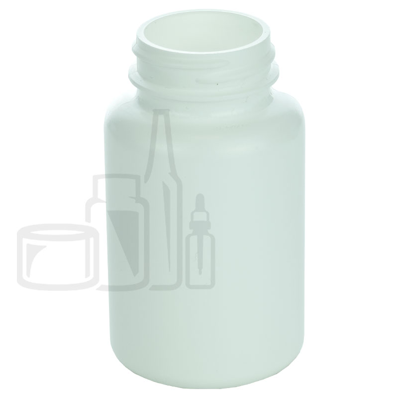 150cc White HDPE Packer Bottle 38-400(450/cs)