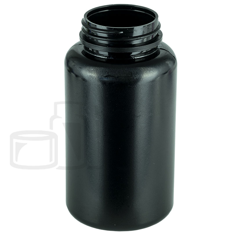 250cc Black HDPE Packer 45-400(270/cs)