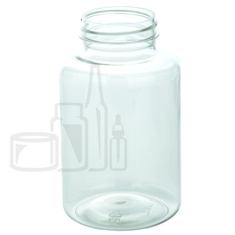 400cc Clear PET Packer Bottle 45-400