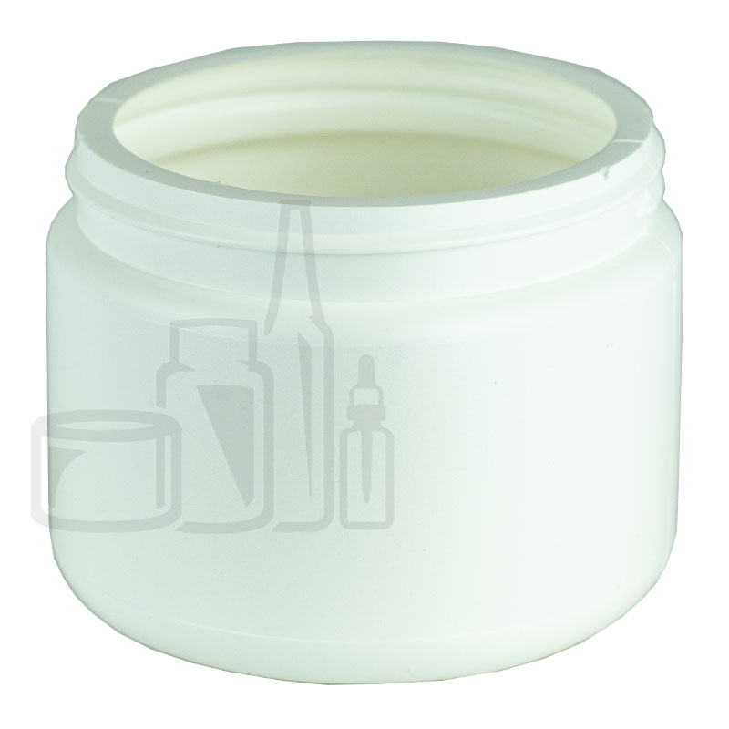 WHITE 12oz HDPE Jar 89/400(280/cs)