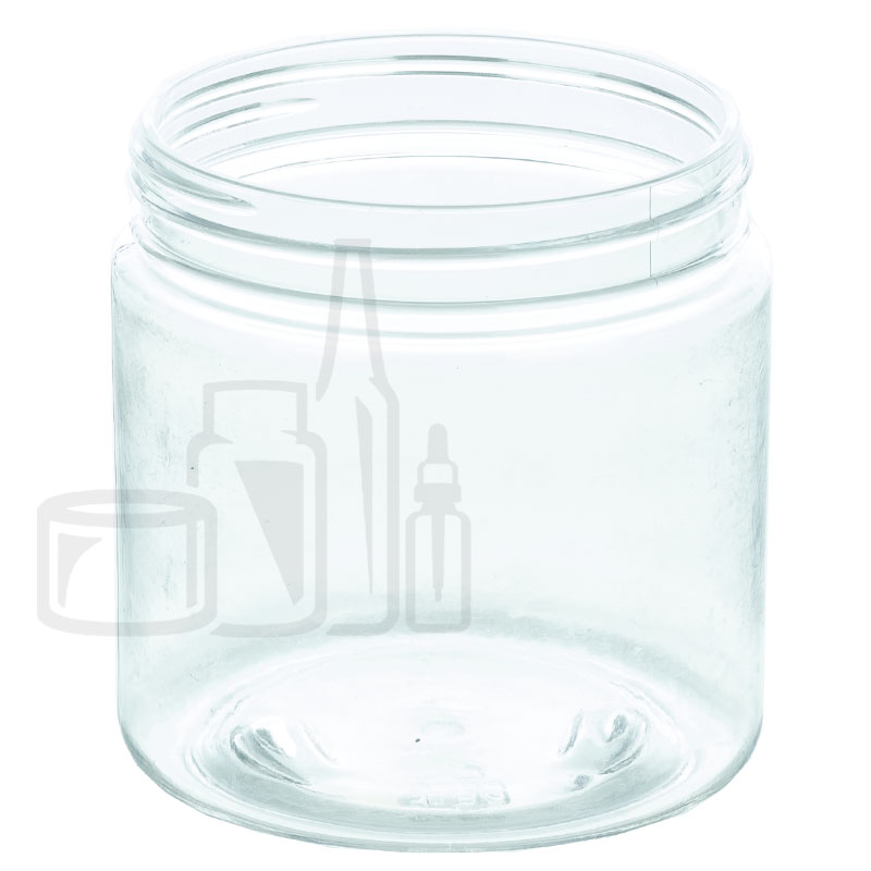 4oz PET SS Jar - Clear - 58-400(250/cs)