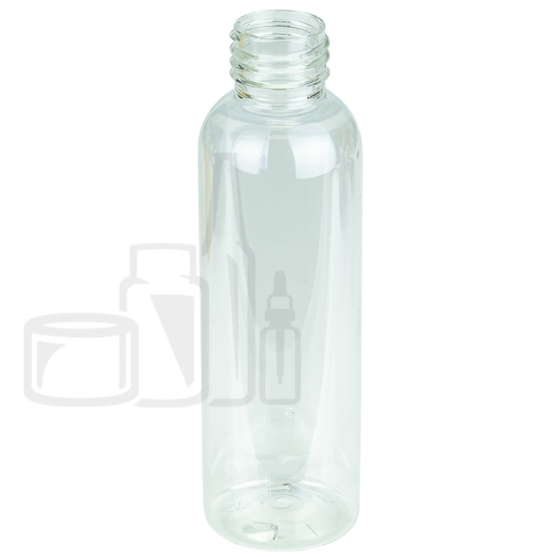 4oz Cosmo Round PET Bottle 24-410(805/cs)