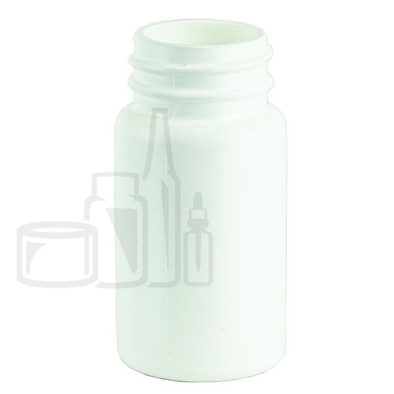 60cc White HDPE Packer Bottle 33-400(1000/cs)
