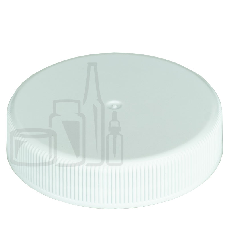 White CT Ribbed Closure 45-400 with PS-22 Liner(2000/cs)