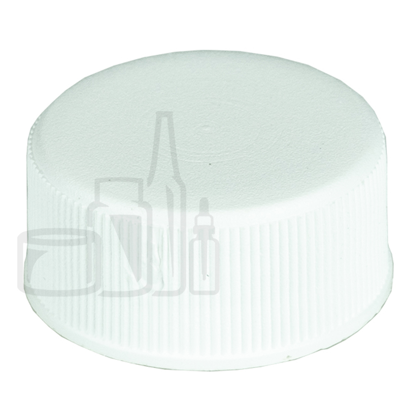 Non CRC WHITE 20-400 Ribbed Skirt Lid with F217 Liner