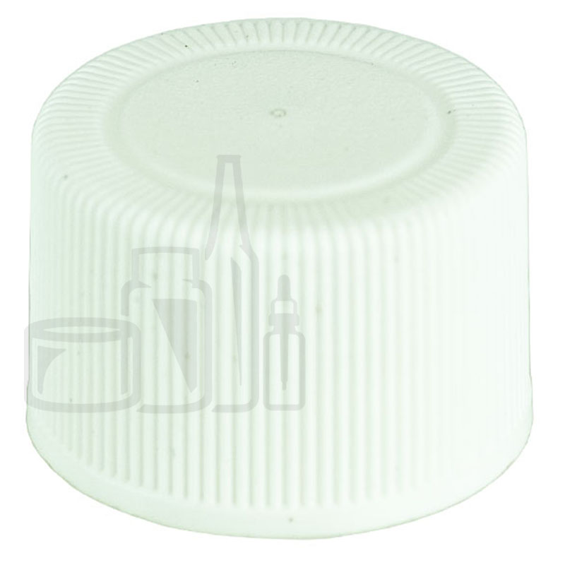 Non CRC WHITE 20-410 Ribbed Skirt Lid with F217 Liner(8000/cs)