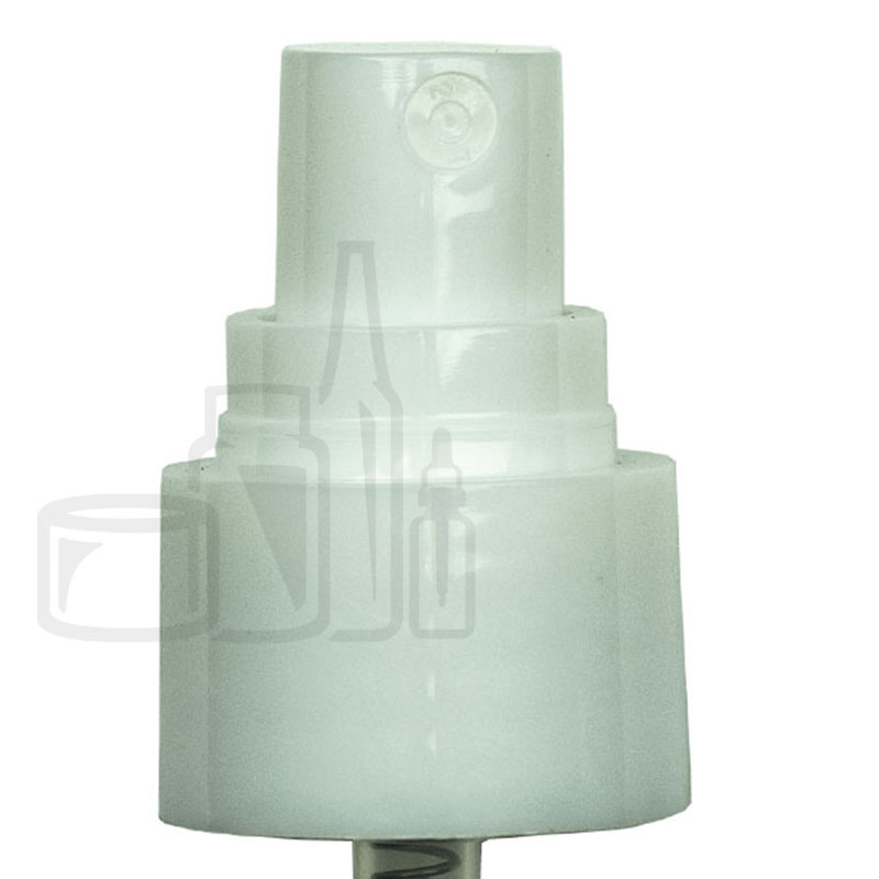 WHITE Fine Mist Sprayer Smooth Skirt 20-410 3.5(2000/cs)