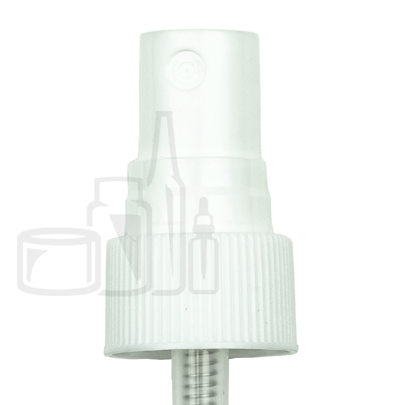 White Fine Mist Sprayer Ribbed Skirt 20-410 3.594(2300/cs)