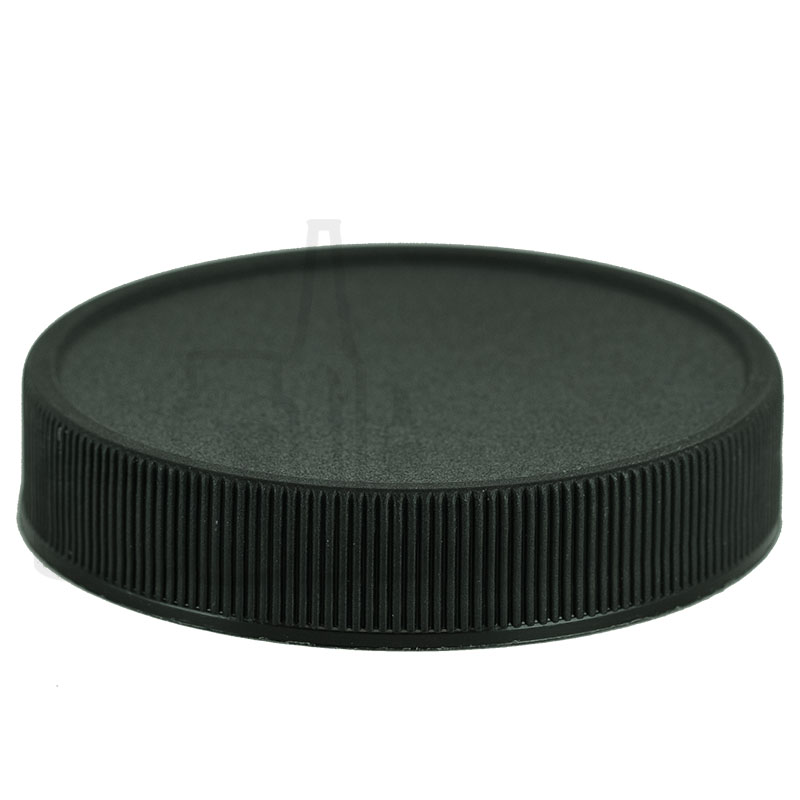 Black CT Ribbed Closure 58-400 with HIS Liner for PET or PVC Only(1100/cs)