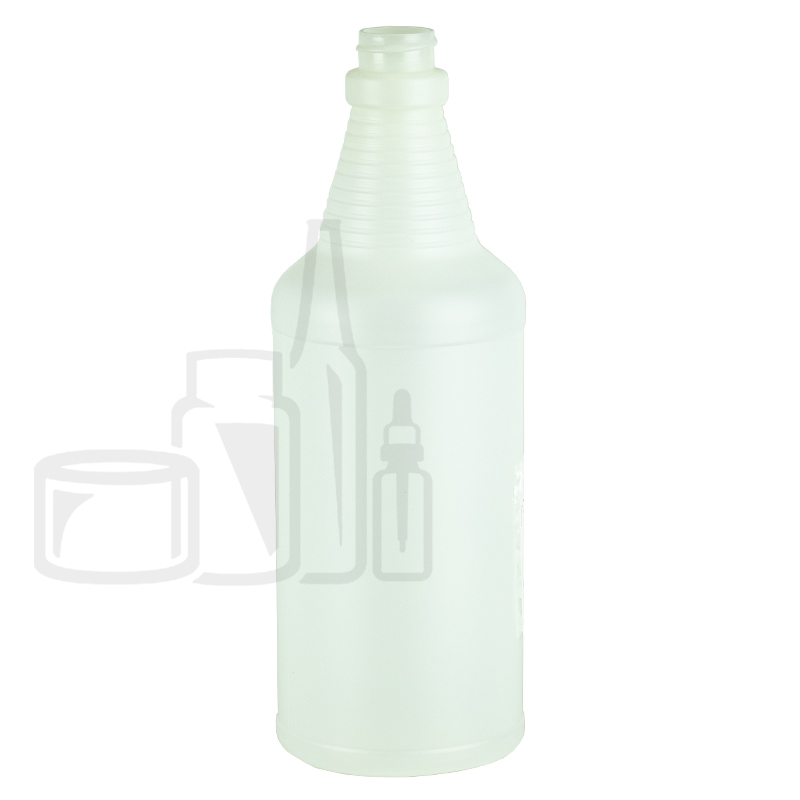 32oz HDPE Carafe Sprayer Bottle 28-400(100/cs)