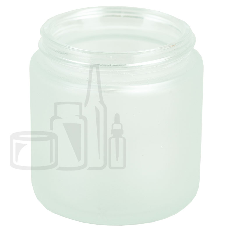 4oz Frosted Clear Glass SS Jar 58-400(120/cs)