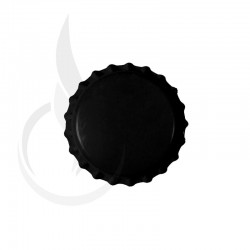 Beer Bottle Cap Black Pry-off