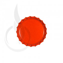 Beer Bottle Cap Orange Pry-off