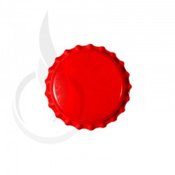 Beer Bottle Cap Red Pry-off