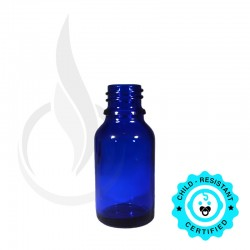 15ml Blue Euro Bottle 18-415