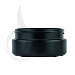 8oz Black Cannabis Plastic Jar (LID SOLD SEPARATELY)