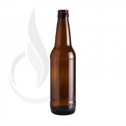 12oz AMBER Beer Bottle
