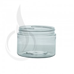 12oz PET SS Jar - Clear - 89-400