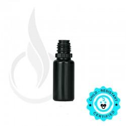 10 ML LDPE SOLID BLACK PLASTIC BOTTLE