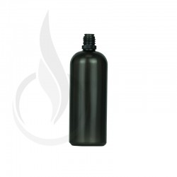 120 ML LDPE TRANSPARENT BLACK PLASTIC BOTTLE