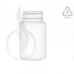 100cc White HDPE Packer Bottle 38-400