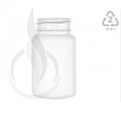 100cc White HDPE Packer Bottle 38-400