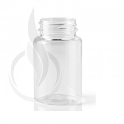 100cc Clear PET Packer Bottle 38-400
