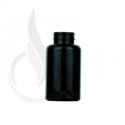200cc Black PET Packer Bottle 38-400