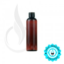 60ml AMBER Cosmo PET Bottle 20-410