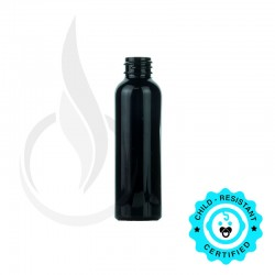 60ml BLACK Cosmo PET Bottle 20-410