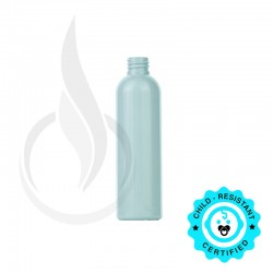 120ml White Cosmo Round PET Bottle 20-410