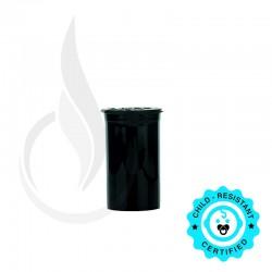 Phillips RX Pop Top Bottle - Black - 19 Dram