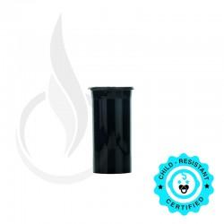 Phillips RX Pop Top Bottle - Black - 13 Dram