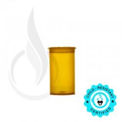 Phillips RX Pop Top Bottle - Amber - 19 Dram