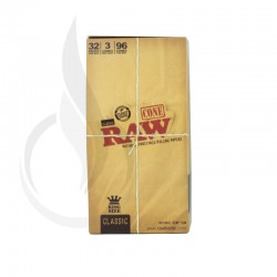 RAW Unrefined Pre-Rolled Cone 32/3PK