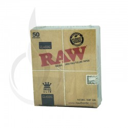 RAW 648 King Size Slim Box/50