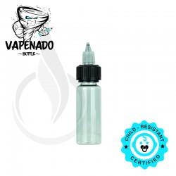 VAPENADO 30ml Bottle with Black/Clear Cap