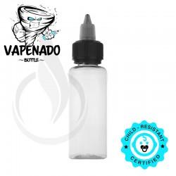 VAPENADO 60ml Bottle with Black/Clear Cap