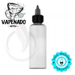 VAPENADO 120ml Bottle with Black/Clear Cap
