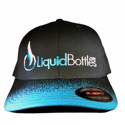 Official LiquidBottles FLEXFIT Hat Black/Blue