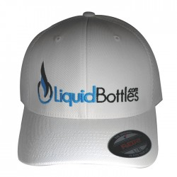 Official LiquidBottles FLEXFIT Hat White