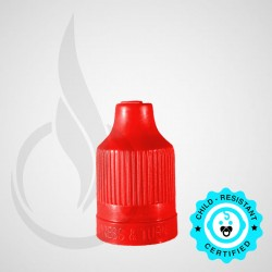 Red CRC Tamper Evident Bottle Cap with Tip