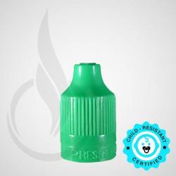 Green CRC Tamper Evident Bottle Cap with Tip