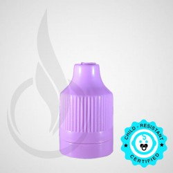 Purple CRC Tamper Evident Bottle Cap with Tip