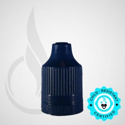 Navy CRC Tamper Evident Bottle Cap with Tip
