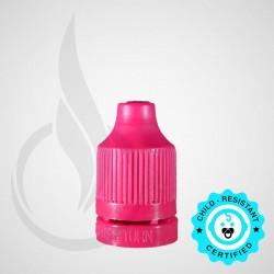 Magenta CRC Tamper Evident Bottle Cap with Tip