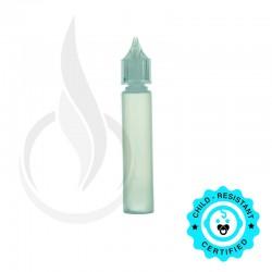 30ML LDPE CHUBBY GORILLA W/CRC CLEAR CAP