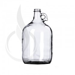1 Gallon Clear Glass Jug with Finger Handle