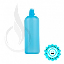 120 ML LDPE BLUE PLASTIC BOTTLE