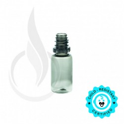 10 ML PET SMOKE BLACK PLASTIC BOTTLE